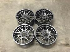 "19"" CSL DEEP CONCAVE Style Alloy Wheels Satin Gun Metal BMW F10 F11 F12 F13"