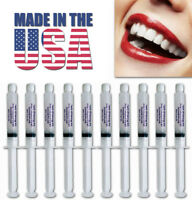 44% TEETH WHITENING PROFESSIONAL DENTAL SYSTEM KIT AT HOME 10 GEL - MADE IN USA