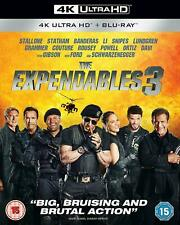 THE EXPENDABLES 3 4K UHD + BLU RAY