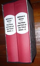 The Rise and Fall of the Third Reich William Shirer Folio Society