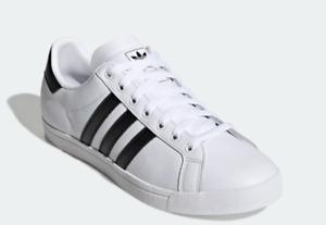 New Adidas Coast Star White & Black EE8900 Men's 9 / Women's 10 / EU 42 2/3