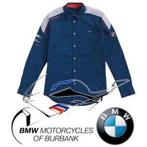 Motorsport Long-Sleeved Shirt Men's Genuine BMW Motorrad Motorcycle STYLE