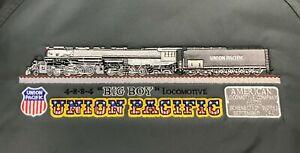 Union Pacific Big boy three season embroidered Jacket