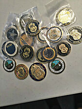 5 PACK OF CHALLENGE COINS