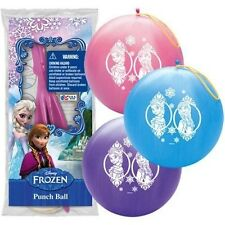 Disney Frozen Punch Ball Balloons Party Favor Goody Treat Bags