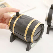 1 *Plastic Wine Barrel  Automatic Toothpick Box Container Dispenser Hot Sale