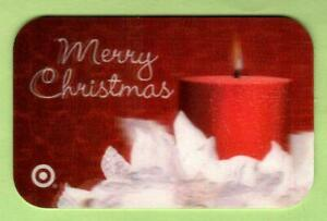 TARGET Merry Christmas Candle 2006 Lenticular Gift Card ( $0 )