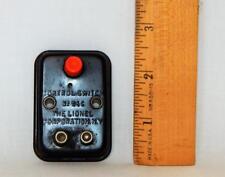 ORIGINAL controller Lionel Trains 96C control switch orange button metal early