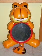 SALTON GARFIELD CAT SHOWER RADIO MIRROR WORKS GREAT