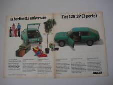 advertising Pubblicità 1975 FIAT 128 3P
