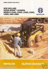 Equipment Brochure - New Holland - Lx465 etal - Super Boom Skid Loader (E1032)