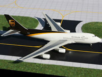 Gemini Jets GJUPS861A UPS United Parcel Service Boeing 747-400F 1:400 Scale New