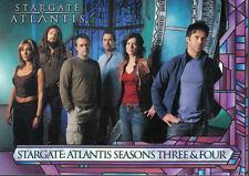 STARGATE ATLANTIS SEASON 3-4 PROMOTIONAL CARD P1
