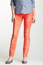 NWT DKNY JEANS TIE DYE JEGGING CORAL SIZE 4 RETAIL $89