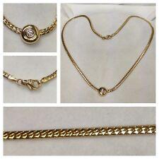 14k COLLAR DE ORO 585er ORO 0,10ct Cadena de oro collar