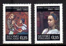 Finland - 1965 Gallen-Kallela Mi. 598-99 MNH