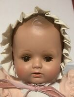 80's Wernicke Brigitte Celluloid-like Reproduction of K&W Antique 1924 Baby Doll