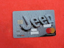 Old Credit Card: Jeep World Mastercard: Hard To Find: Never Seen Listed On eBay
