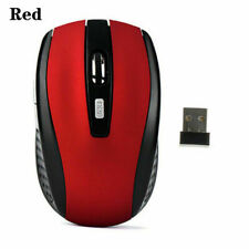 2.4Ghz Mini Wireless Optical Gaming Mouse Mice+USB Receiver For PC Laptop Red