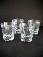 Four Libbey Chivalry Double Old Fashioned Glasses Without Any Faults Found