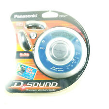 Panasonic SL-MP75 D Sound Portable CD Player w/Headphones NEW SEALED