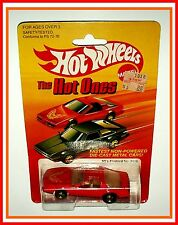 1982 Hot Wheels: Fast Ones #3918 - 80's Firebird - Red  (MOC)