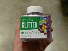 Sulyn Extra Fine Glitter Vintage Pink 2.5 Oz