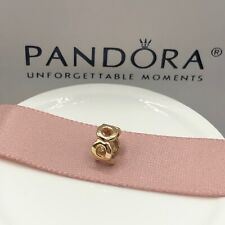 NEW! Authentic Pandora 14K Gold Link Spacer #750222 w/Hinged Box