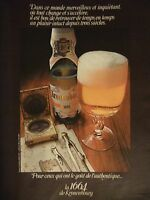 PUBLICITÉ 1972 LA 1664 DE KRONENBOURG BIÈRE - ADVERTISING
