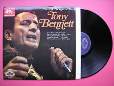 Tony Bennett - The Very Thought Of You, Hallmark SHM-769 Stereo, Ex Condition LP