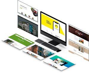 Website | Landing Page | Design | WordPress | Webseite erstellen