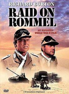 Raid on Rommel (DVD, 1998) Brand New, Sealed
