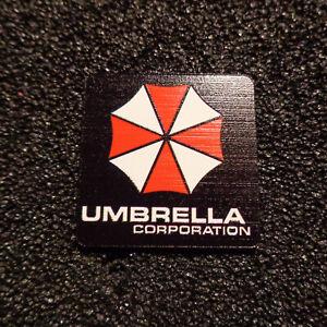 Umbrella Corporation Resident Evil Logo Label Decal Case Sticker Badge [467e]