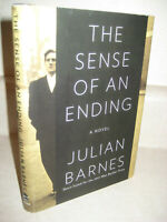 Sense of An Ending Julian Barnes Novel 1st Edition First Printing Booker Prize