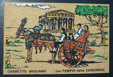 PALERMO - SUGHERO CARD - CARRETTO SICILIANO