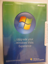 PC MICROSOFT WINDOWS VISTA EXPERIENCE ANYTIME UPGRADE DISC 32 Bit DVD SEALED