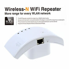 300Mbps Wireless WLAN Internet Wifi Router AP Repeater Wall Extender Booster PC