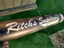 New listing Louisville Ritch's Superior  Softball Bat 30 oz. 34 inch Singlewall ,Powerized