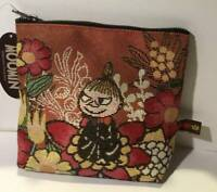 MOOMIN Little My Travel Makeup Pouch Cosmetic Case Purse Bag