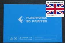 Flashforge Creator, Dreamer, Inventor, Makerbot Replicator 2 Build Plate Sticker