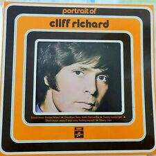 CLIFF RICHARD LP PORTRAIT OF 1972 HOLLAND VG++/VG++