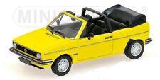 VW Golf I Cabrio gelb 1980 1:43 Minichamps neu & OVP 400055130