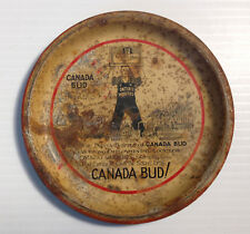 CANADA BUD beer 1930 Ontario workers syndicate ashtray Budweiser RARE