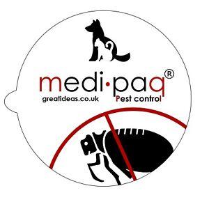 Flea Trap Discs Replacement Sticky Pads Dog Cat Home Pest Control Non-Poisonous