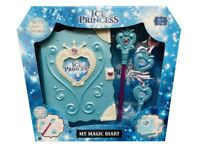 My Magic Diary Infantil Diario, Pluma & Collar con Luces & Sonidos Parque - Azul
