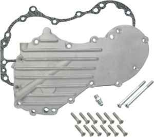 S & S Cycle 40-48 Panhead style 8 ribs w/ tapped hole Generator Cover 106-3198