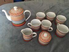 Villeroy & Boch Porcelain 9 Piece Coffee Tea Set Switch 4 Pattern