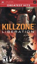 Killzone: Liberation (Greatest Hits, 2006) Brand New Factory Sealed USA Sony PSP