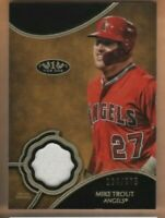 2019 Topps Tier One Baseball - Mike Trout Relic Card - Angels - 134/375