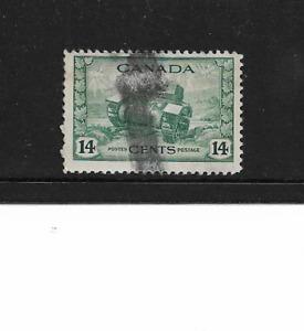 1942 Canada Postage Stamp 14 Cents Ram Tank Scott #